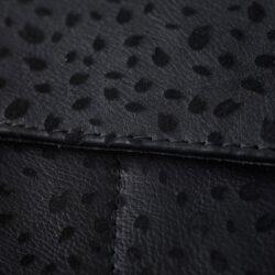 FST29-1 -Glamtech-Black-Leather-Leopard-Pouch-Closed (1)